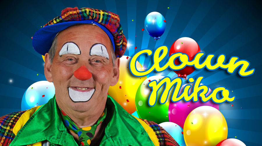 Kindershow: Joke en clown Miko